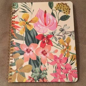 Tropical Floral Botanical Journal Notebook NWT